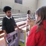 A Walk Through Time:  African American Living Wax Museum